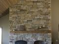 7100 Ledgestone Woodbox Granite