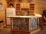 Natural Fieldstone Bar
